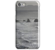 Offshore rocks viewed from Cape Meares 3 iPhone Case/Skin