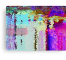 The Mirror in the Water Canvas Print