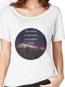 Walks In Starlight- The Hobbit Women's Relaxed Fit T-Shirt