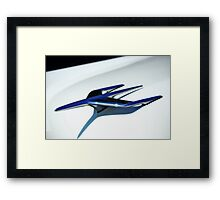 Abstract in Chrome Framed Print