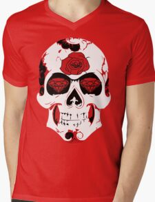 Roses Are Red.. Diamonds Are Bloody Mens V-Neck T-Shirt