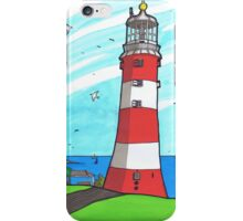 Plymouth Hoe Lighthouse iPhone Case/Skin