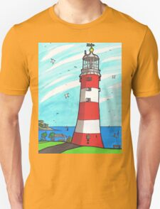Plymouth Hoe Lighthouse T-Shirt