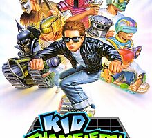 Kid Chameleon Mega Drive Cover by TWMTees