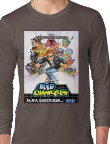Kid Chameleon Mega Drive Cover Long Sleeve T-Shirt