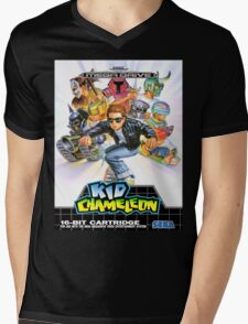 Kid Chameleon Mega Drive Cover Mens V-Neck T-Shirt