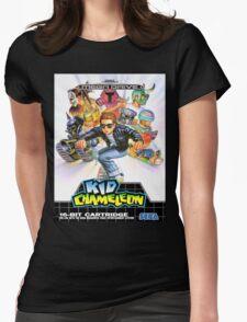 Kid Chameleon Mega Drive Cover Womens Fitted T-Shirt