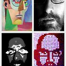 self portraits  by Stephen McLaren