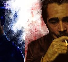 True Detective s2 - Ray Velcoro and Frank Semyon by p1xer