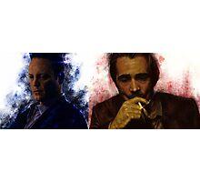 True Detective s2 - Ray Velcoro and Frank Semyon Photographic Print
