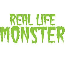 Real Life Monster Photographic Print