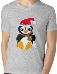 I love my Santa hat! Mens V-Neck T-Shirt
