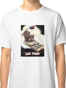 Material Conservation - Jap Trap - WW2 Classic T-Shirt