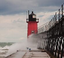 South Haven, Michigan Lighthouse-1  by Robert Kelch, M.D.