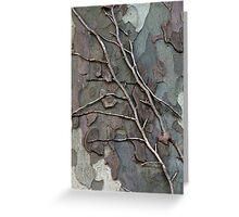 Vine on a Tree  Greeting Card