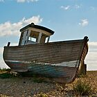 Boat with no name by John Thurgood