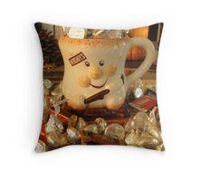 Chocoholics Unite! Throw Pillow