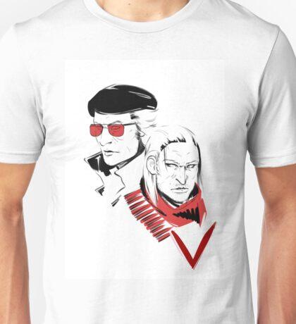 Kazuhira Miller & Ocelot Unisex T-Shirt