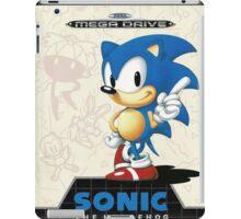 Sonic the Hedgehog Mega Drive Cover iPad Case/Skin