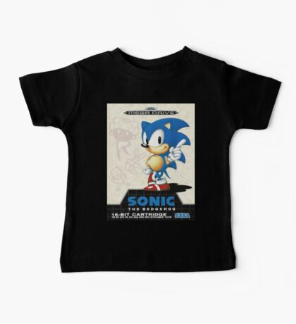 Sonic the Hedgehog Mega Drive Cover Baby Tee