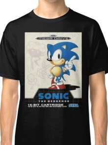 Sonic the Hedgehog Mega Drive Cover Classic T-Shirt