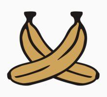 Crossed Bananas by Designzz