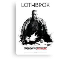 Awesome Series - Lothbrok Canvas Print