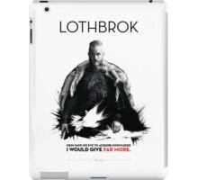 Awesome Series - Lothbrok iPad Case/Skin