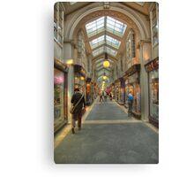 To the arcade (again). Canvas Print