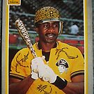 496 - Lee Lacy by Foob's Baseball Cards