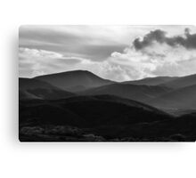 Last Brush Of Sunlight Canvas Print