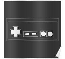 NES Controller - Light Poster