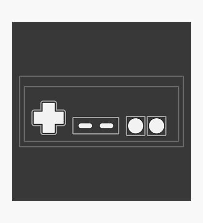 NES Controller - Light Photographic Print