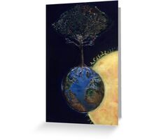 Genesis tree Greeting Card