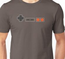 NES Controller Buttons - Colour Unisex T-Shirt