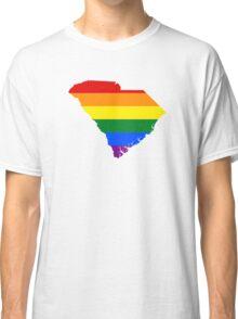 LGBT Flag of South Carolina  Classic T-Shirt