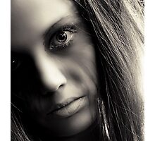 crazy eyes Photographic Print