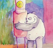 Panda Loves Robot, Robot Feels Nothing by Jonathan Arras