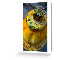 Yellow Fever Greeting Card