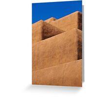 Escaleras de Santa Fe Greeting Card
