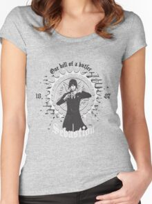 Sebastion - Black Butler  Women's Fitted Scoop T-Shirt