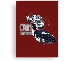 Cars Fury Road Canvas Print