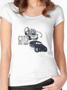 Cars Fury Road Women's Fitted Scoop T-Shirt