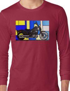 harley glass 2 Long Sleeve T-Shirt