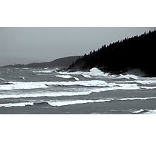 The Fury on Lake Superior, Marathon ONtario Canada Photographic Print