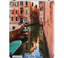 Impressions of Venice - Wandering Around the Small Canals iPad Case/Skin