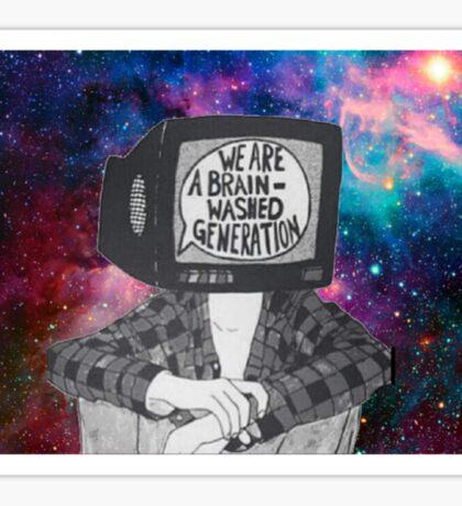 Brain-washed Sticker