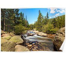 Mountain Stream Colorado Poster