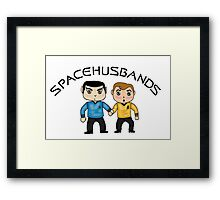 space husbands Framed Print
