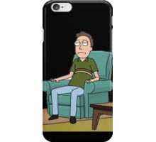 Rick and Morty-- Jerry Relaxes iPhone Case/Skin